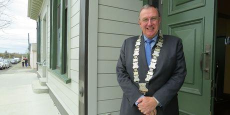 Central Hawke's Bay Mayor Peter Butler.