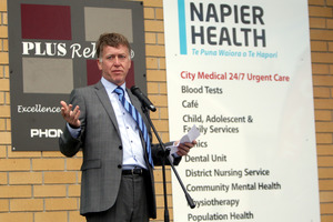 District health board chief executive Kevin Snee. Photo / Paul Taylor