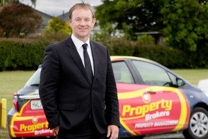 Property Brokers Hawke's Bay regional manager Paul Whitaker. Photo / Warren Buckland