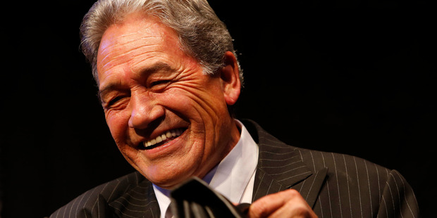 """Winston Peters said the new taxes were making smokers feel """"guilty"""", and unfairly targeting them. Photo / John Stone"""