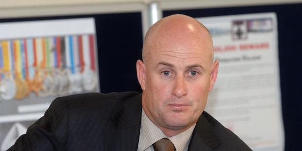Detective Inspector Chris Bensemann