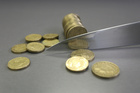 I'd give up a 2017 tax cut and settle for debt at 30 per cent. Photo / Wairarapa Times-Age