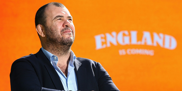 Cheika's abrasive public persona probably isn't accurate but, more than that, he is a very deep thinker about the game and is thirsty for knowledge. Photo / Getty Images