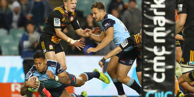 The Waratahs shocked everyone with the ease of their victory over the Chiefs on Friday night. Photo / Getty Images