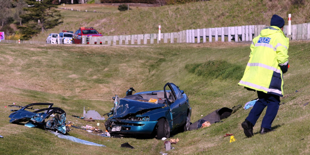 FATAL: Police have named the American woman killed in a crash in Napier. PHOTO PAUL TAYLOR
