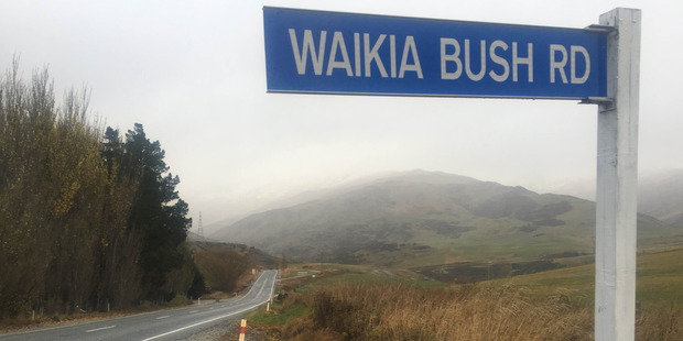 The group were on a four-wheel-drive trip yesterday when they ran into trouble on the Waikaia Bush Rd. Photo / Damon Ford, Live24 NZ