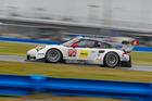 The Porsche 911 RSR of Earl Bamber.