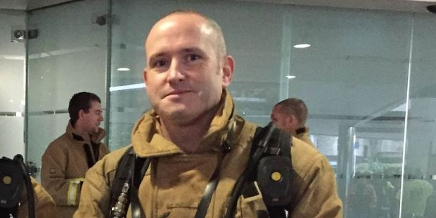 Carterton firefighter Mike Dawes. PHOTO/SUPPLIED