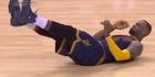 Watch: LeBron James mocked for flop against Raptors