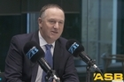 Watch: ZB's Mike Hosking talks to John Key