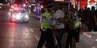 Watch: Watch: Auckland CBD violence