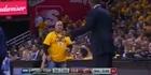 Watch: Watch: Dwane Casey argues with Cavaliers fan