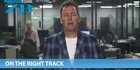 Watch: Mike's Minute: On the right track