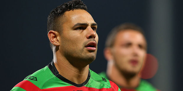 Ben Te'o during his stint with the South Sydney Rabbitohs in the NRL. Photo / Getty