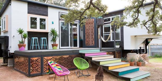 One of the tiny houses from Tiny House, Big Living. Photo / HGTV (Molly Winters Photography)