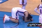 Golden State forward Draymond Green could still be banned from game four of the Western Conference NBA finals after kicking New Zealand's Steven Adams in the groin during the Thunder's game three thrashing of the Warriors. Source: TNT