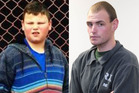 Alex Fisher, left, and the brother who killed him, Eric McIsaac.