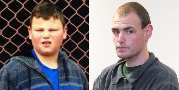 Alex Fisher, left and his older brother Eric McIsaac, who pleaded guilty to the boy's murder.