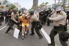 US protests gain force