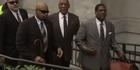 Watch: Watch: Bill Cosby due in court in sex-assault case