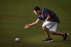 Lawn bowler Jack Green, 15, from Albany Senior High School. Picture / Jason Oxenham