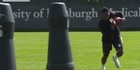 Watch: Steelers train with robot tackling dummies