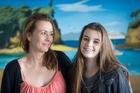 Alexandra Constantine hopes to be able to donate part of her liver to her daughter, Imogen, 14. Photo / Greg Bowker