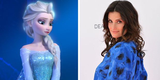 Idina Menzel fully supports her Disney character to be lesbian. Photos / Disney, Getty Images