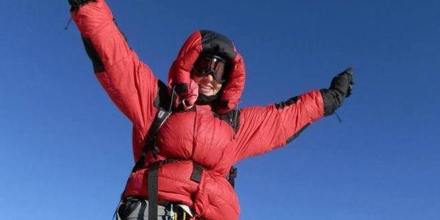 Monash University business lecturer Maria Strydom died from altitude sickness after reaching the summit of Mount Everest. Photo / Facebook