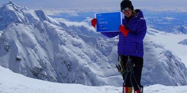 The Melbourne woman was agonisingly close to the mountain's summit when she was forced back by altitude sickness. Photo / Facebook