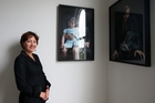 Auckland Art Fair director and art collector Stephanie Post in Remuera, Auckland. Photo / Getty Images