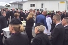 An Air New Zealand hostess Amanda Ferreira was farewelled by friends and family after losing her battle with cancer.