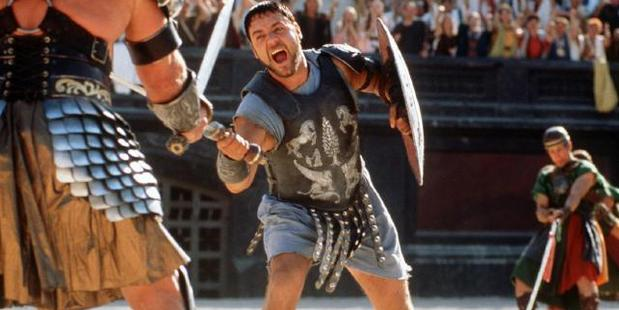 Surely he picked up a few injuries of the set of Gladiator.
