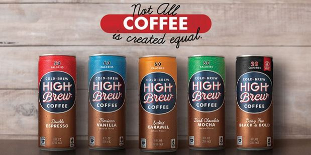 David Smith started his High Brew Coffee company after buying a cold-brew kit on Amazon. Photo / highbrewcoffee.com