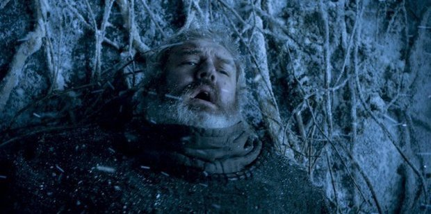 """Kristian Nairn thinks Hodor is """"sad about what happened because he's not going to see his friends again"""". Photo / HBO"""