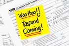 Research found those who earn $60,000 to $70,000 per year or under $10,000 per year  generally recieve the largest tax returns. Photo / iStock