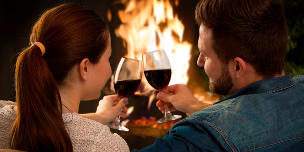Drinking alcohol may make you feel warm but actually lowers your core body temperature because the rush of blood to the skin's surface is a means of body cooling. Photo / iStock