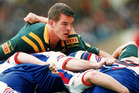Ian Roberts in action for the Kangaroos. photo / Getty