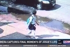 Source: KHOU  The final moments of Houston 11 year old Josue Flores' life before he was stabbed walking home from school.