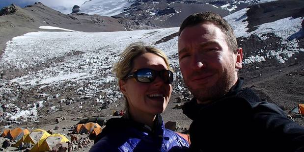 The couple were experienced climbers and had been in Nepal preparing for the climb since April. Photo / Facebook