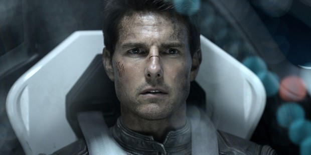 Tom Cruise in the sci-fi movie Oblivion. The star had hoped to join a Nasa mission into space.