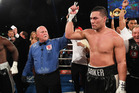 Joseph Parker after taking down Carlos Takam. Photo / Photosport