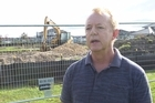 Chris Martin is upset about a playground being built in his suburb.