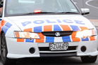 The 14-year-old was fleeing police when he ploughed into a road worker in Stokes Valley. Photo / File