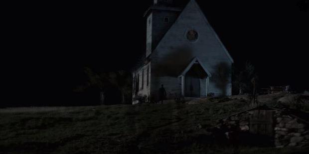 Scene from the TV series Preacher.