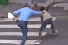 Disturbing scenes of daylight robbery in Rio de Janeiro could instigate a moral panic ahead of August's Olympic Games. Photo / Youtube.