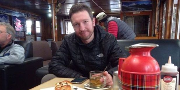 Robert Gropel is said to be recovering in Kathmandu, after trying to help his wife from the mountain with the help of Sherpas. Photo / Facebook