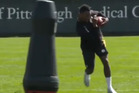 Steelers train with robot tackling dummies. Photo / Youtube.