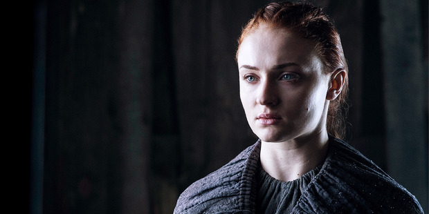 Sansa is finally coming into her own this season, owning the Stark name. Photo / HBO