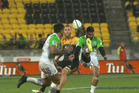 Lima Sopoaga's audacious reverse chip kick.